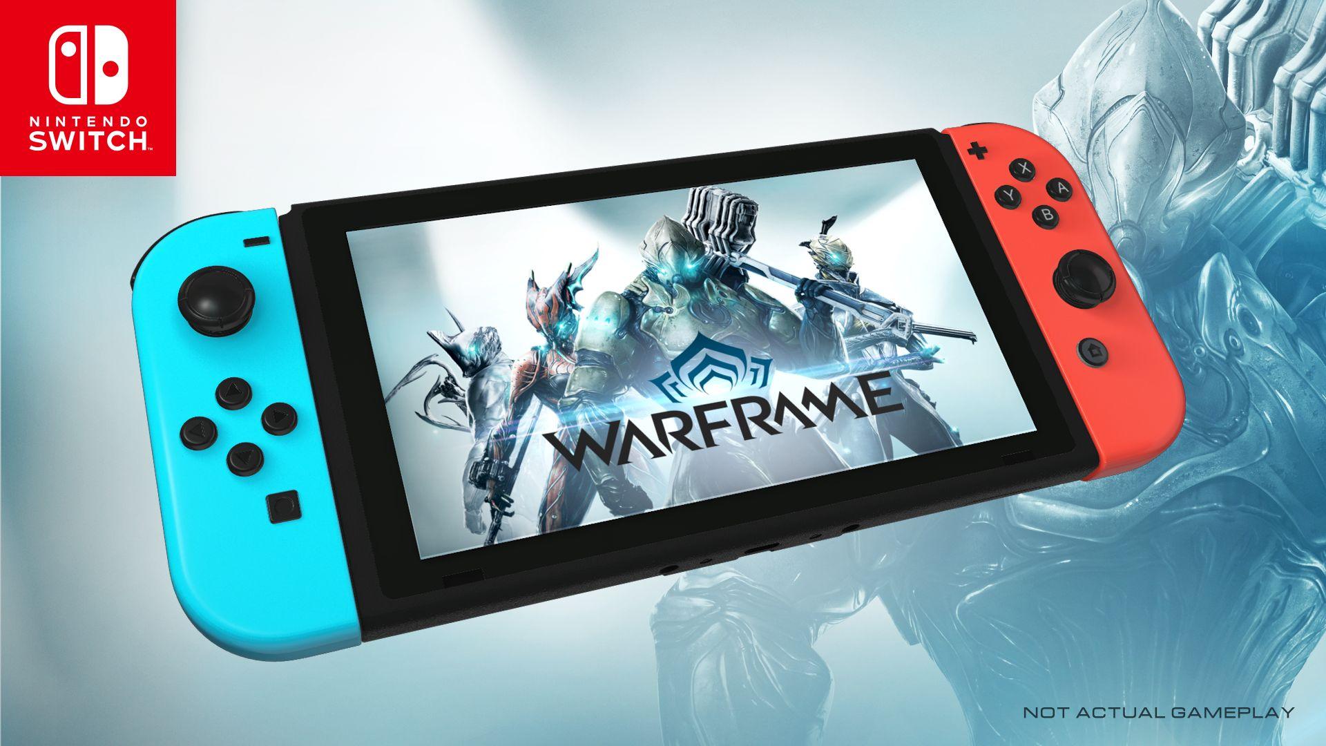 Warframe komt naar de Nintendo Switch