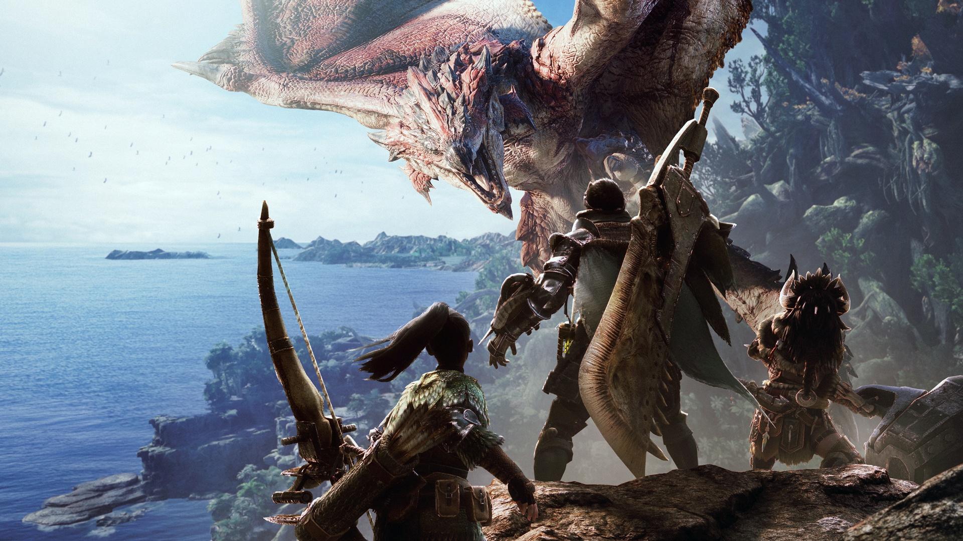 Monster Hunter: World in augustus naar PC