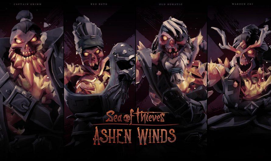 Ashen Lords meren aan bij Sea of Thieves