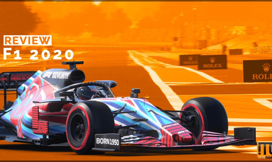 Review: F1 2020: Racen in de regen op Zandvoort