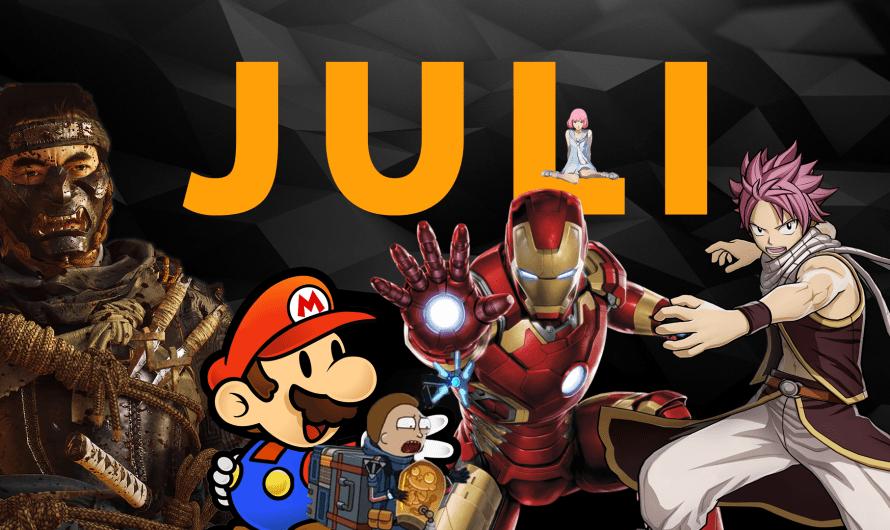 Game releases voor de maand juli: Paper Mario en meer