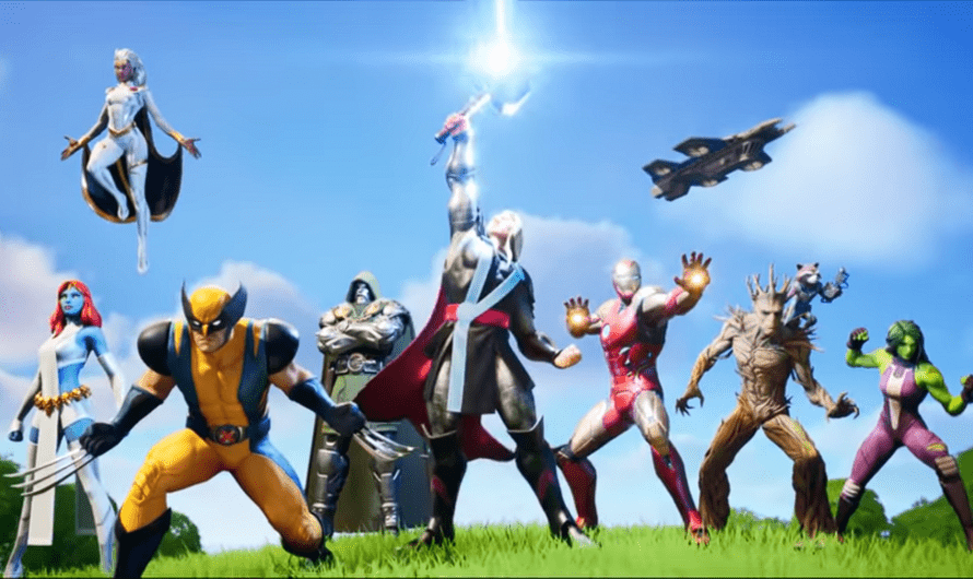 Fortnite seizoen 4 Battle Pass brengt Marvel helden