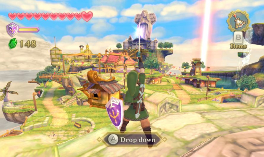 Legend of Zelda: Skyward Sword voor Switch duikt op