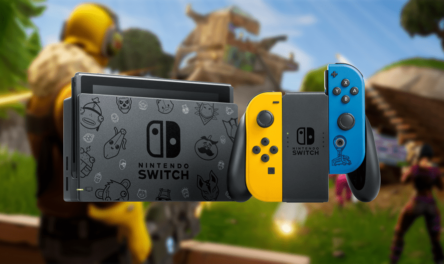 Nintendo Switch krijgt een Fortnite Special Edition Bundel