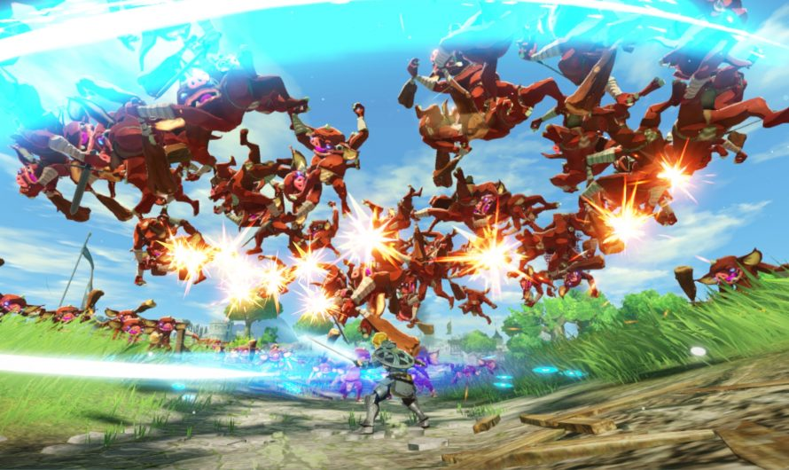Jaag op Koroks in Hyrule Warriors: Age Of Calamity