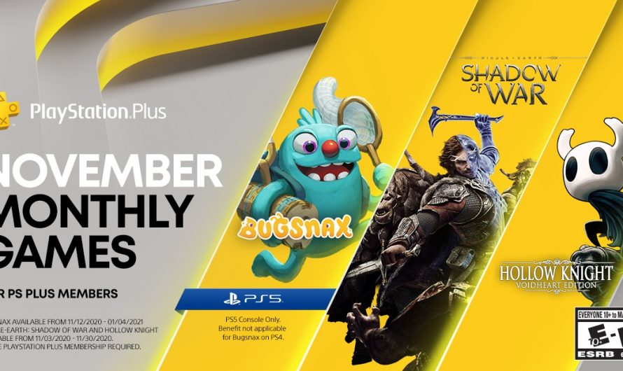 Bugsnax en meer in november Playstation Plus line-up