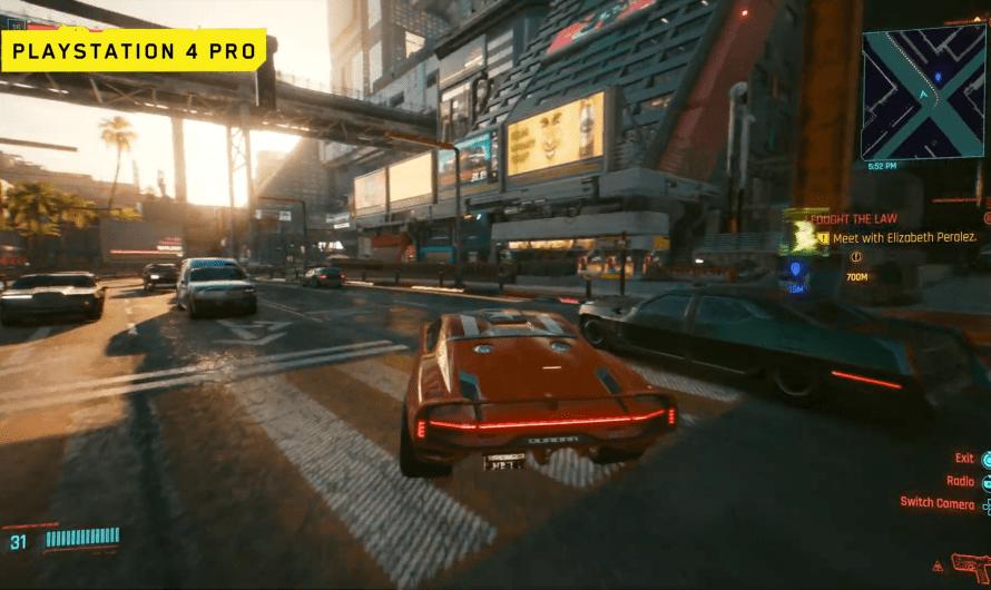 Cyberpunk 2077 op Playstation 5 en Playstation 4 Pro