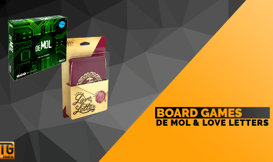 De Mol en Love Letters: snelle bordspellen voor kerst