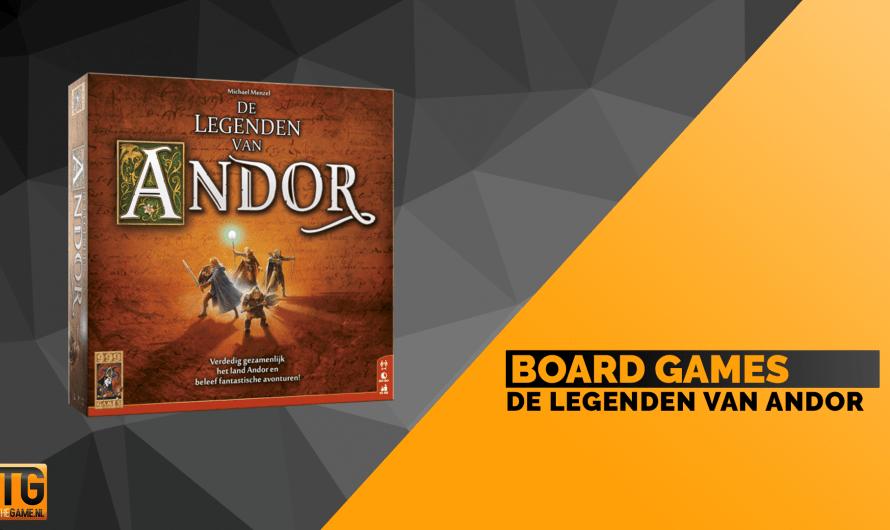 De Legenden van Andor: Bordspel in de stijl van D&D