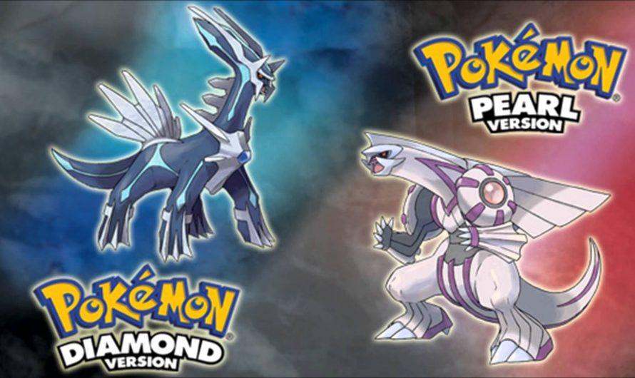 Pokémon Diamond en Pearl gelekt voor 2021