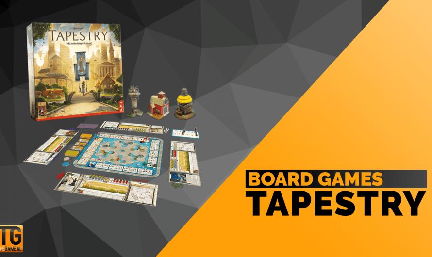 Tapestry: een schitterend strategisch bordspel
