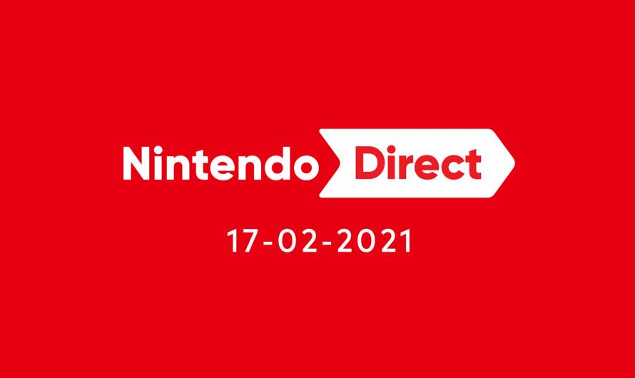Nintendo Direct gepland voor 17 februari 23:00