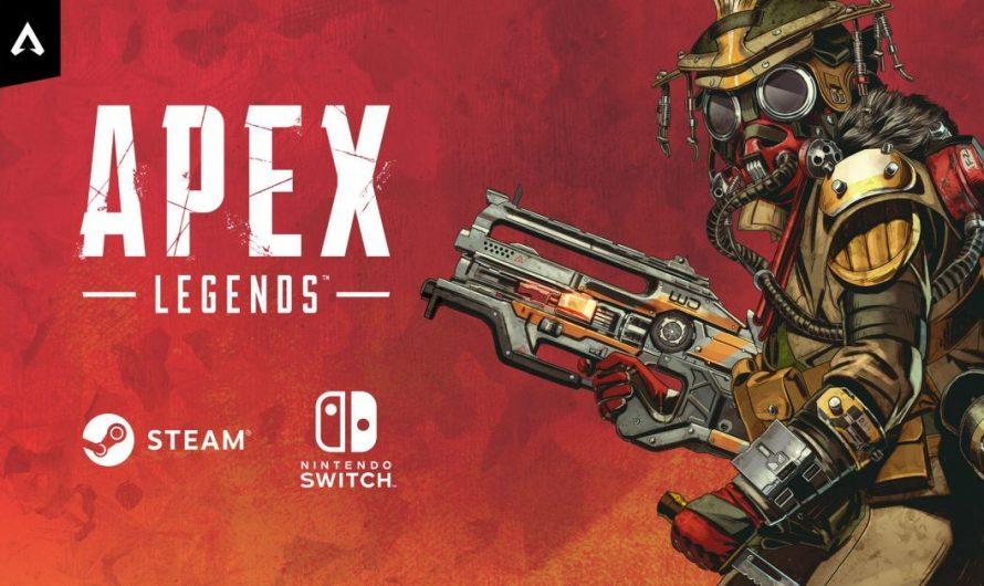 Apex Legends vanaf vandaag op Nintendo Switch!