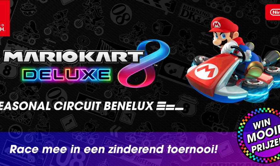 Nintendo Benelux organiseert Mario Kart 8 Deluxe toernooi