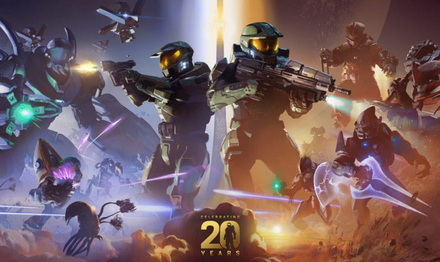Xbox en Halo vieren twintigste verjaardag