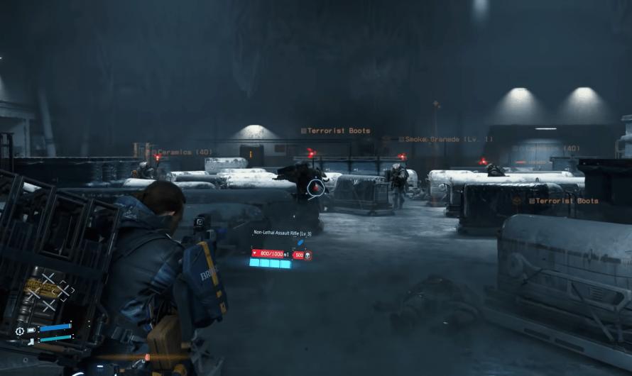 Death Stranding ziet er goed uit in de PS5 Director's Cut