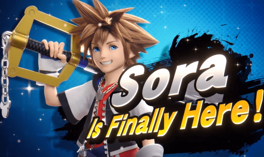 Sora joins the Fight in Super Smash Bros. Ultimate